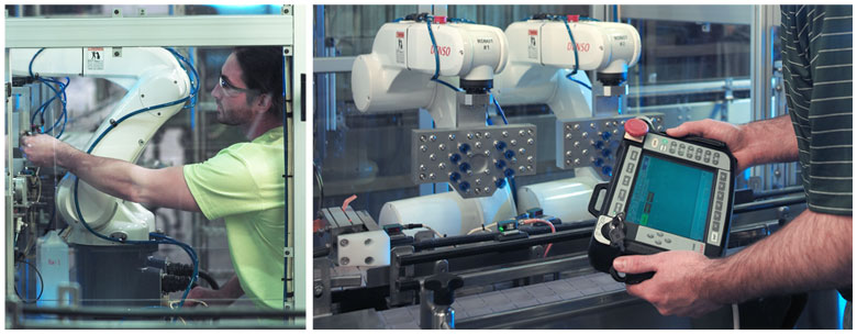 Universal Machine, Industrial Robotics, Assembly Line Design and Installation